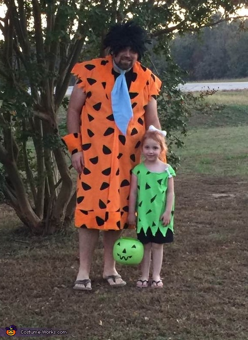 Fred and Pebbles Costume