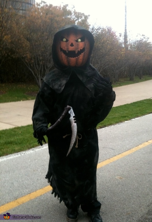 Pumpkin Head, Fred and Pump Costume