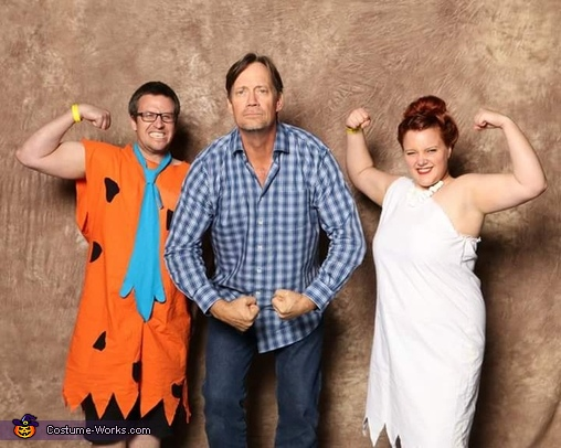 The Flintstones Fred and Wilma Couple Costume