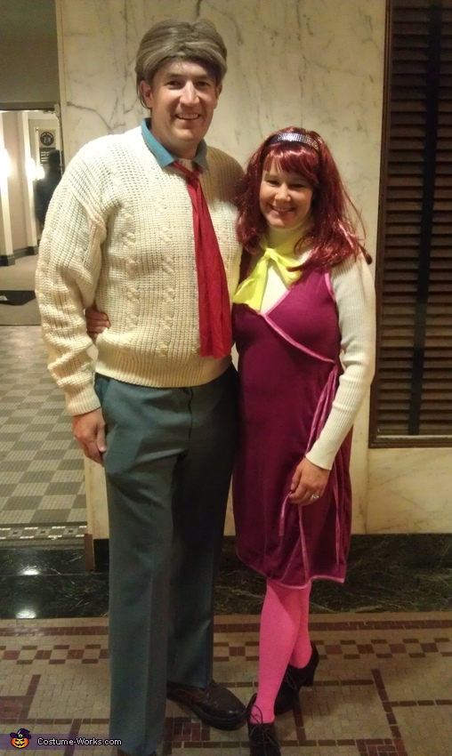 Fred Jones and Daphne Blake Costume