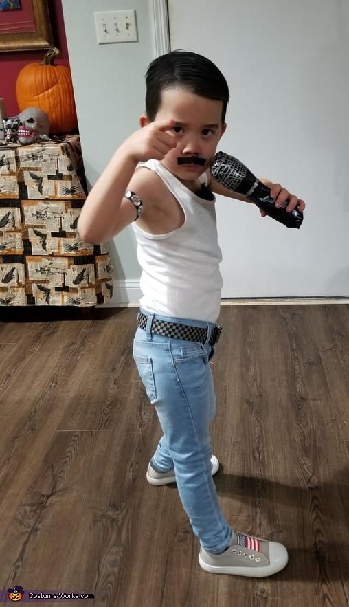 He will, He will, Rock You, Freddie Mercury Costume