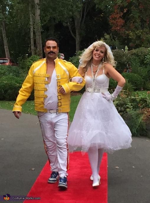 Freddie Mercury and Madonna Costume