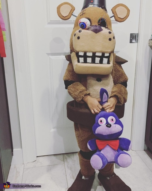Freddy Fazbear Homemade Costume
