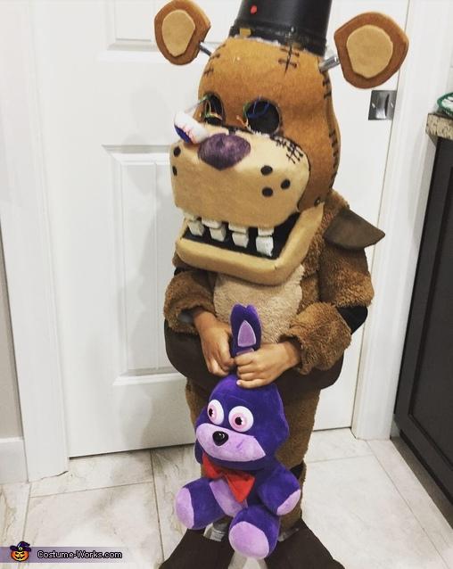Freddy Fazbear Homemade Costume