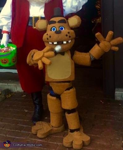 Freddy Fazbear Costume