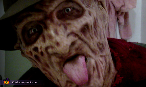 Freddy Close UP 2, Freddy Krueger Costume