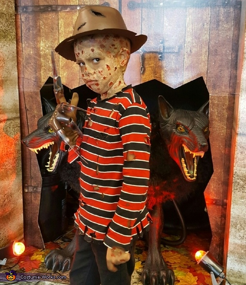 Child Freddy Krueger Costume