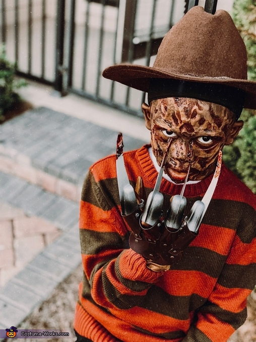 Freddy Krueger Homemade Costume