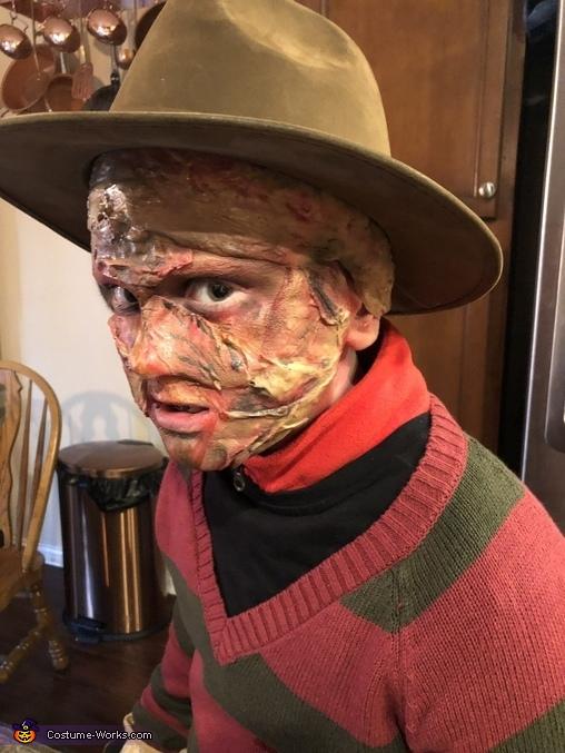 Freddy Krueger Homemade Costume