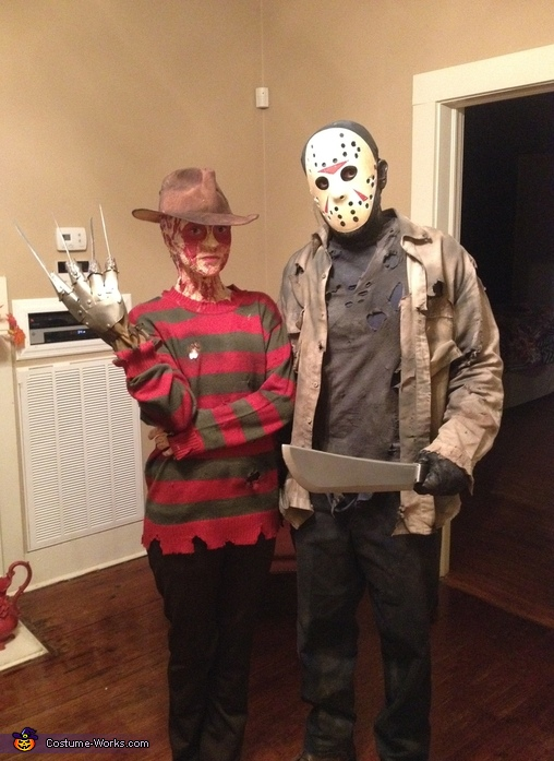 Freddy Krueger Freddy vs Jason, Jason Voorhees Friday the 13th Costume