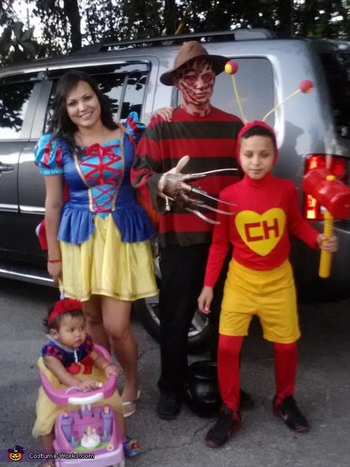 Trick or Treatin, Freddy Kruger Costume