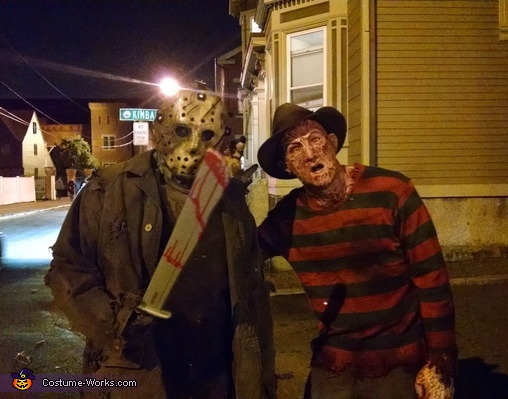 Freddy vs. Jason Homemade Costume