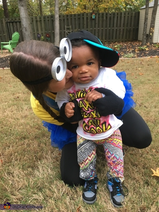 Mommy was a minion!, Fresh Prince Costume