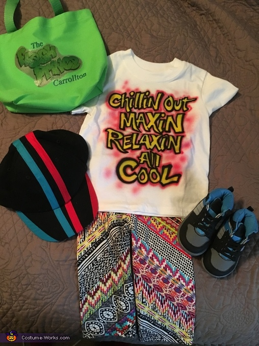 The complete look!, Fresh Prince Costume
