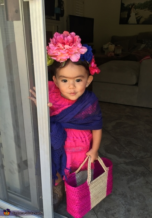 Frida Kahlo Baby Halloween Costume