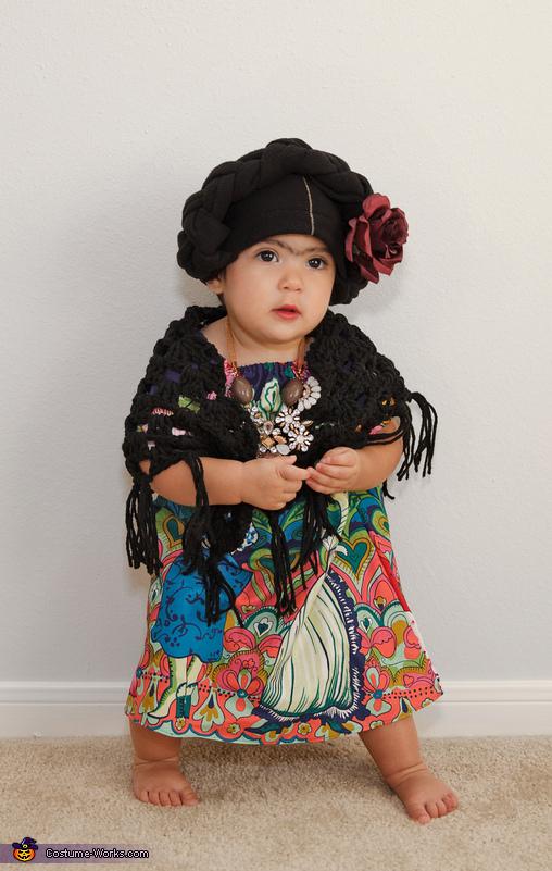 Frida Kahlo Baby Costume  sc 1 st  Costume Works & Frida Kahlo Baby Costume DIY