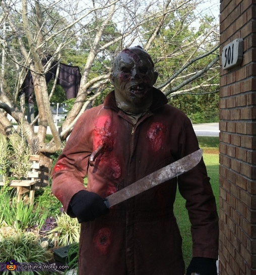 Jason's getting ready for you!, Friday the 13th Jason Voorhees Costume