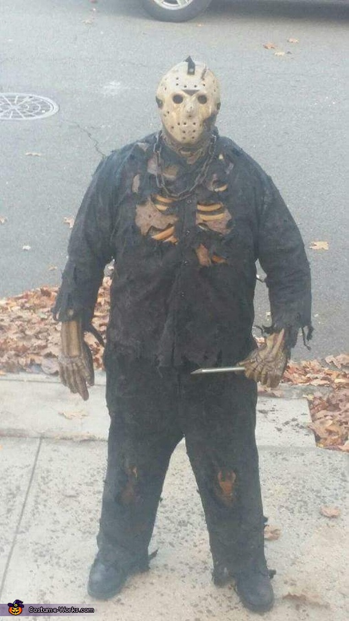 Halloween Costume Jason Friday 13th.Friday The 13th New Blood Jason Voorhees Suit Costume