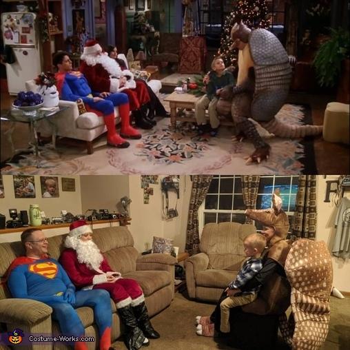 Comparison, Friends Costume