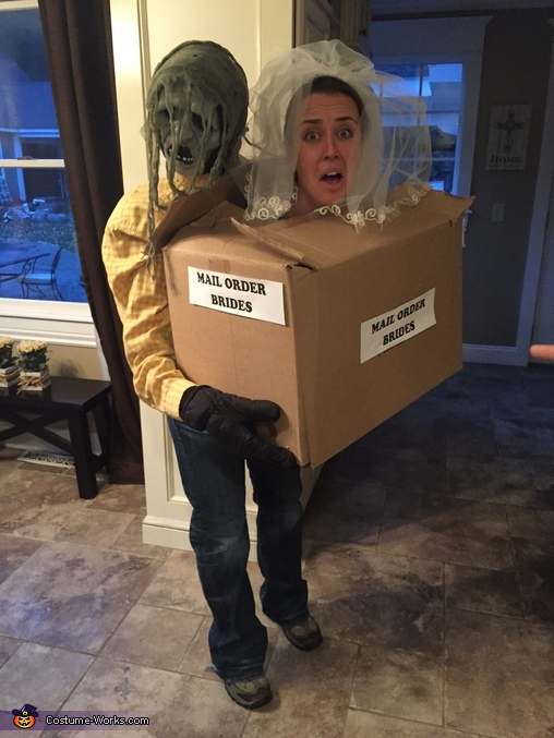 Frightened Mail Order Bride Costume