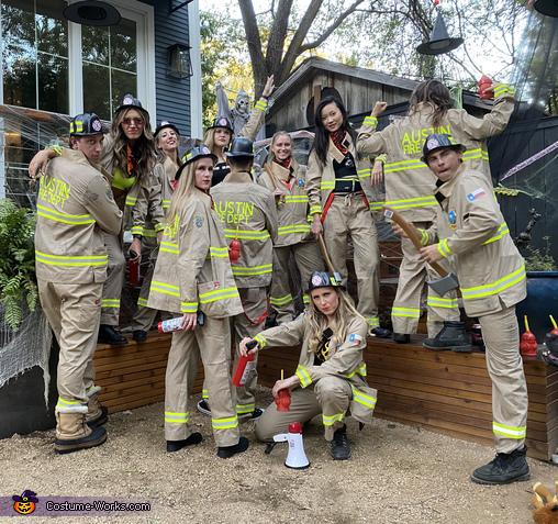 Frisky Firefighters Costume