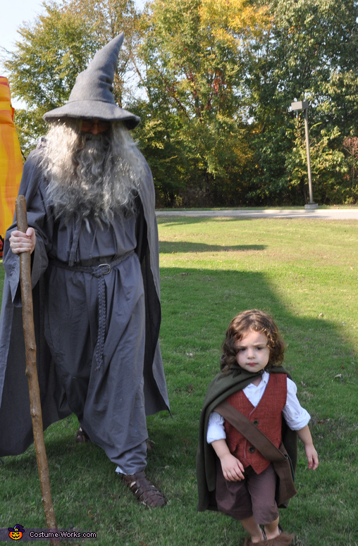 Frodo and Gandalf Costume