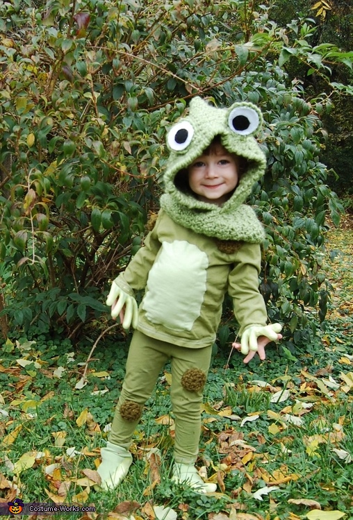 Frog Costume for Two Year Old
