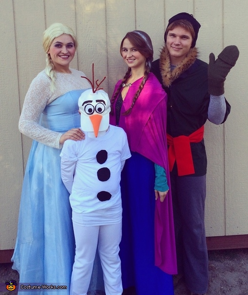 Frozen Movie Family Costume