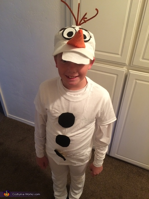 Olaf costume diy, Frozen Movie Family Costume