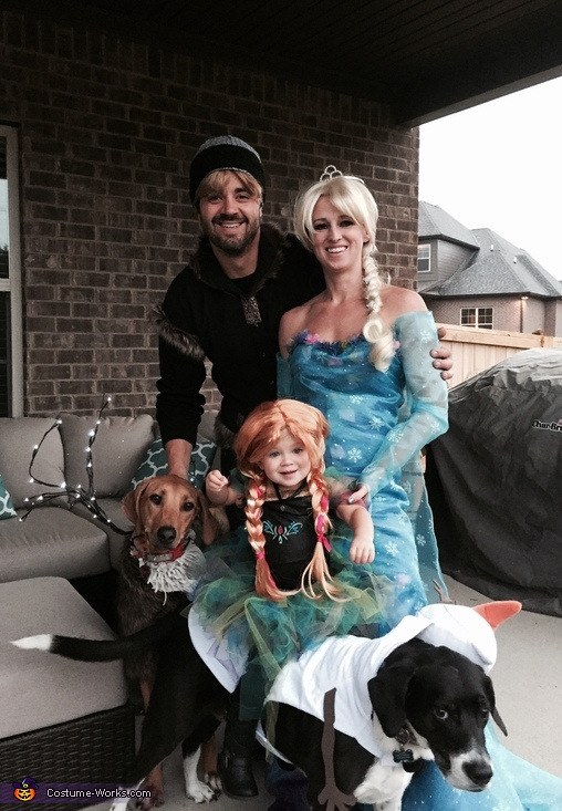 Toddler Frozen Obsession Costume
