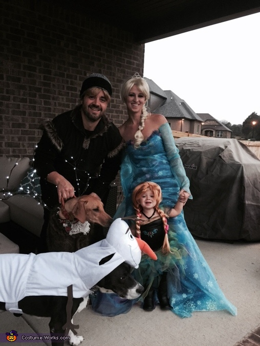 Frozen Crew #2, Toddler Frozen Obsession Costume