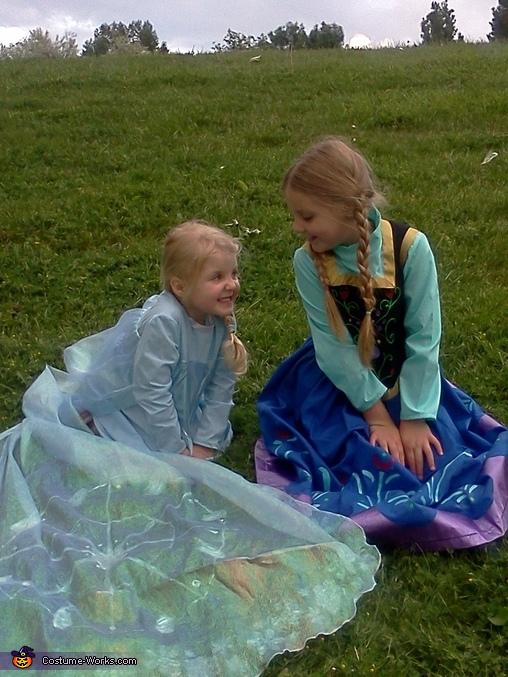 Frozen Elsa & Ana Costume
