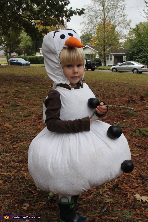 Do you want to build a snowman?, Frozen Family Costume