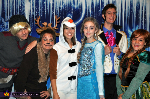 Frozen Family Costume