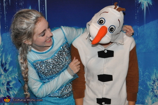 Elsa and Olaf, 'IN Summer!', Frozen Family Costume