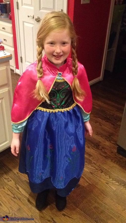 Anna , Frozen Family Costumes