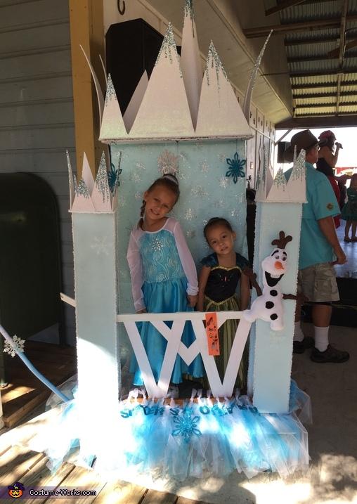 Frozen Ice Castle Elsa & Anna Costume