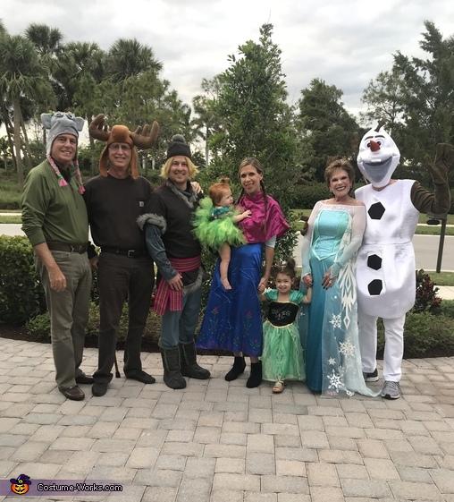 Frozen in Florida Costume