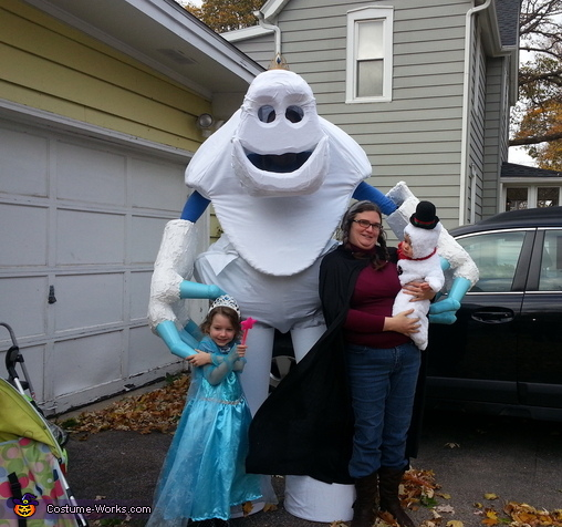 The family photo, Marshmallow Costume