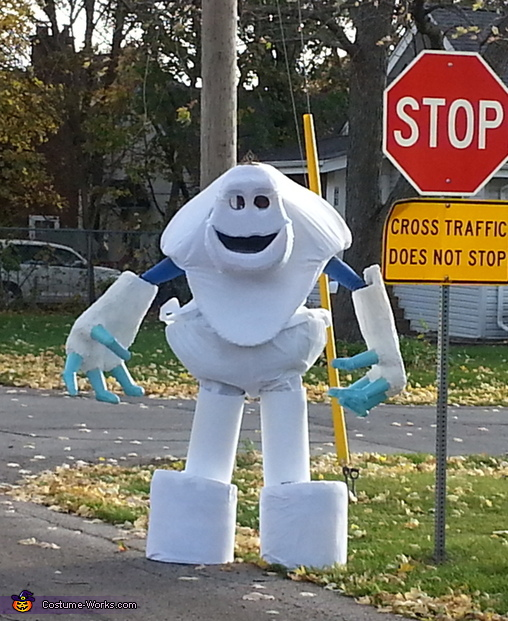 Marshmallow Costume