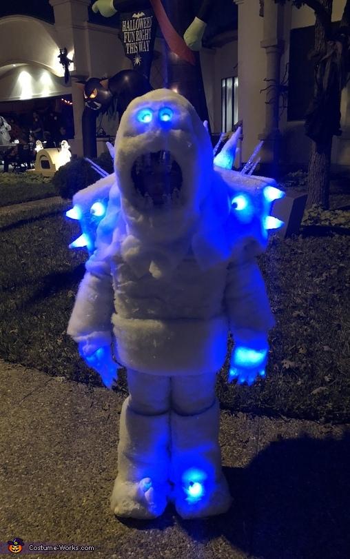 Disney's Frozen Marshmallow Snow Monster Costume
