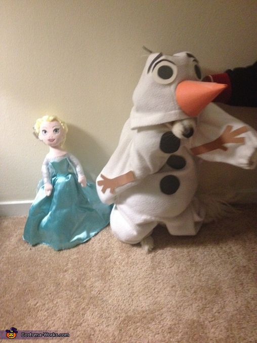 Olaf from Frozen, Frozen Olaf Dog Costume