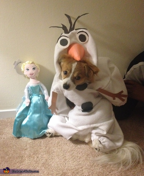 Frozen Olaf Dog Costume