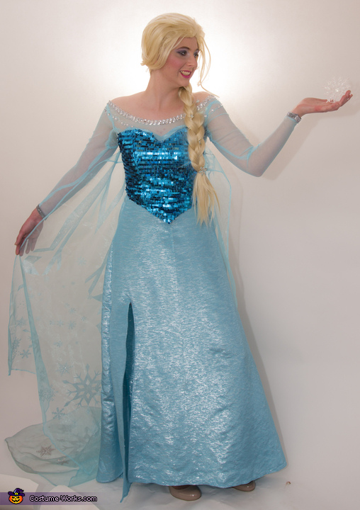 Snow Queen Elsa, Frozen Sisters Anna and Elsa Costume