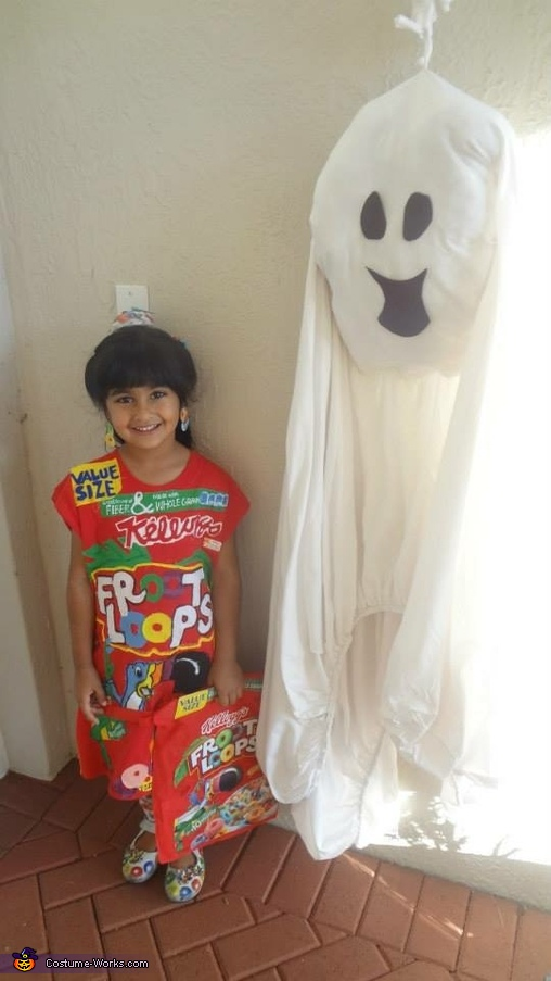 Fruitloops and Milk Homemade Costume