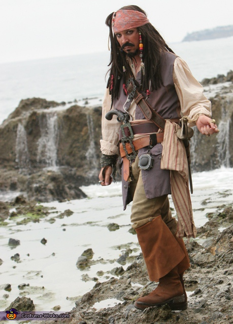 Full costume, Captain Jack Sparrow Costume