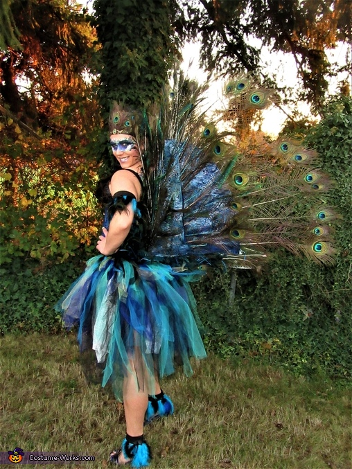 Fully Articulating Peacock Costume