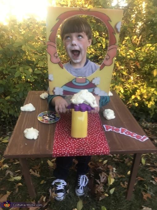 Pie Face!, Fun & Games Costume