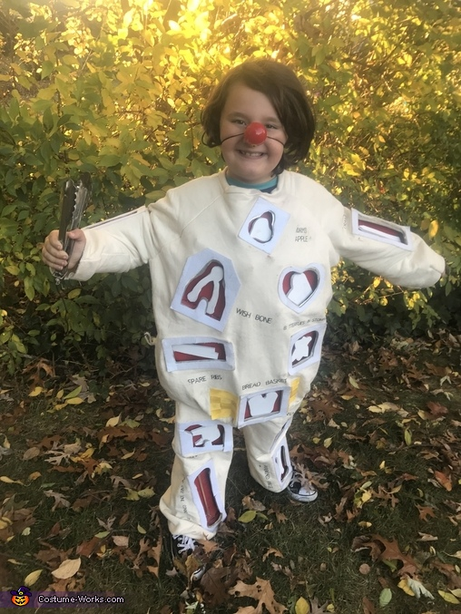 It takes a steady hand!, Fun & Games Costume