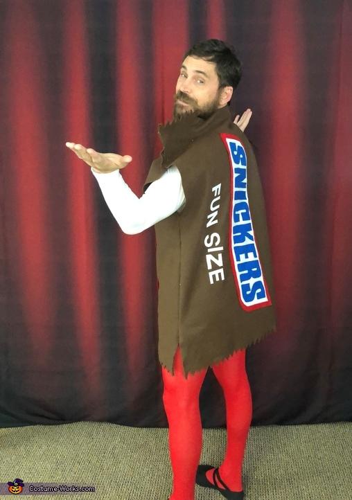 Fun Size Mitch back, Fun Size Mitch Costume